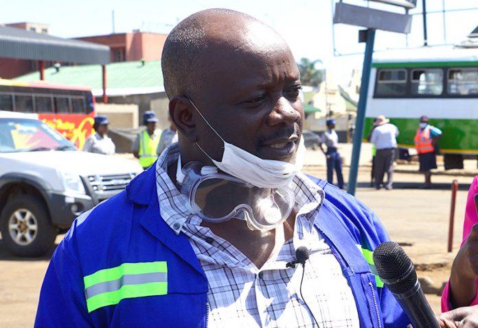 Zupco CEO Everisto Madangwa